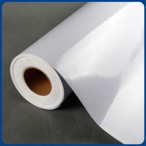Rótulo para impressão de solventes 120g e 140g e auto-adesivo vinil PVC