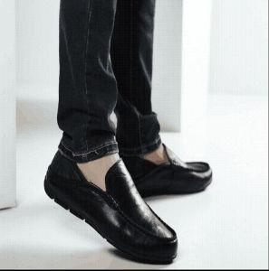 Zapatos de cuero de alta calidad para hombres moda zapatos Nude (FTS1019-27)