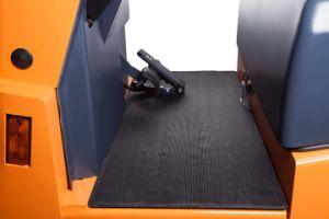Ce 6 Ton zitten-op de Elektrische Slepende Tractor die van het Type met 6 Ton Kracht trekken