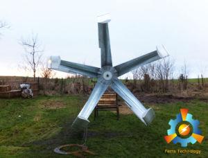 5kw 수직 축선 바람 터빈 발전기
