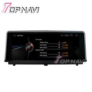 Topnavi 8.8 인치 디지털 스크린 인조 인간 4.4 차 다중 매체 Nevigation GPS 입체 음향 BMW (2012-) DVD Bt 텔레비젼 FM