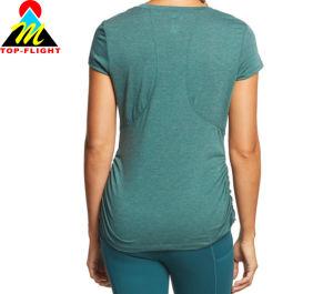 고품질 건조한 적합 면 숙녀 t-셔츠 도매 중국