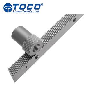 Meccanismo di comando dello sterzo personalizzato della cremagliera e del pignone di alta precisione di CNC