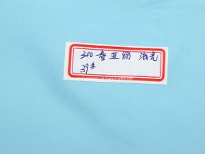 300T tintura Poli Pongées Fabric