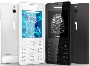 Para desbloquear o telefone celular original Nokie 515