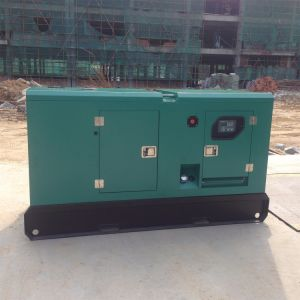 Бесшумный типа 60КВТ ФАО дизельного двигателя генераторной установки