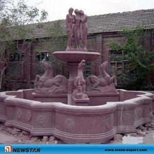Fonteinen van de Tuin van Newstar de Goedkope Gesneden