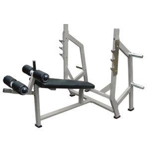 Strumentazione olimpica di ginnastica del banco di declino, macchina della costruzione di corpo, forma fisica