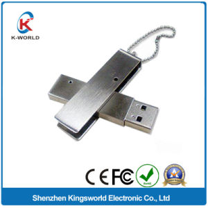 Высокое качество нержавеющей поворота ключа USB/ флэш-накопитель USB 32 ГБ