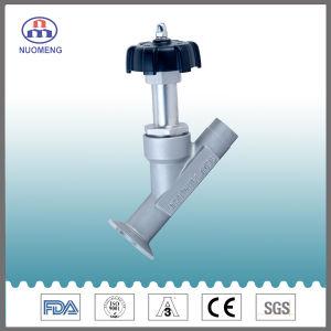 Manual de acero inoxidable sanitario el ángulo de asiento de válvula Rjz soldado1-7101