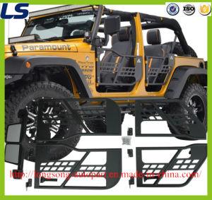 Para Jeep Wrangler Jk tubulares Puertas 2/4 Puertas con espejo de reflexión