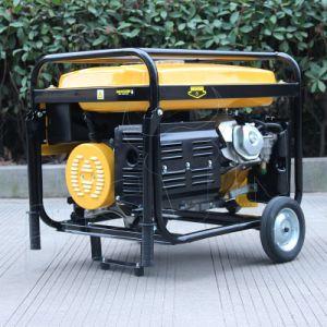 Generator van de Benzine van het Huishouden van de Draad van het Koper BS6500h van de bizon (China) (h) 5kw 5kVA 13HP de Luchtgekoelde Draagbare voor Verkoop
