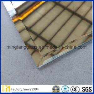Edgeworked aluminium biseauté Miroir, Miroir avec certificat SGS