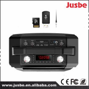 Altavoz sin hilos portable estéreo de Bluetooth del Karaoke