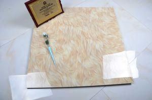 建築材料800*800mmの十分に艶をかけられた磨かれた磁器の床タイル、大理石のコピーの陶磁器の床タイルJm8a855