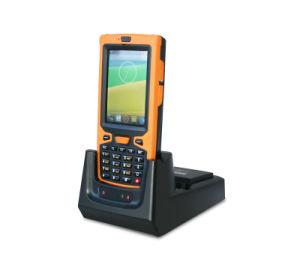 De industriële Androïde Lezer van de Scanner PDA Handbediende Smarphone met het Laden van Dok