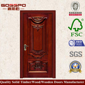 porte int rieure en bois massif une seule feuille gsp2 005 porte int rieure en bois massif. Black Bedroom Furniture Sets. Home Design Ideas