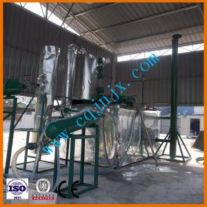 Jnc-5 de aceite de plástico de la Regeneración de destilación de petróleo diesel máquina