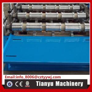 Feuille de toiture en aluminium automatique machine à profiler de profil d'ondulation