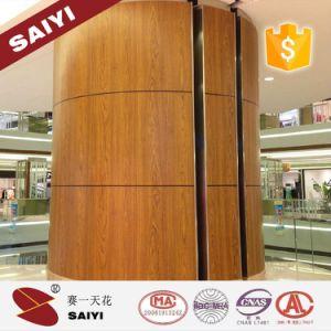 2018topsale Chine fabricant ISO9001 : 2015 Moisture-Proof la plaque de plafond décoratif