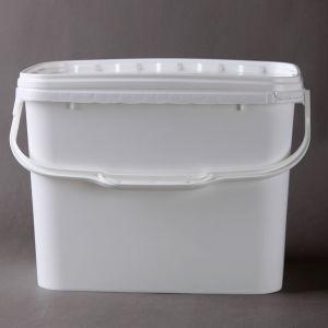9L superior qualidade Grau Alimentício balde plástico quadradas