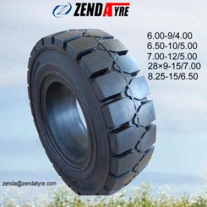 6.50-10/5.00 neumáticos sólidos para el uso de la carretilla
