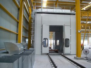Barramento CAN do Veículo Yokistar cabine de pintura por spray com certificado CE