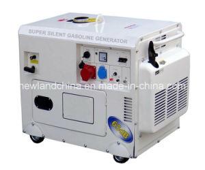 5kw de stille Generator van de Benzine met Elektrische Start/Gg6500dse