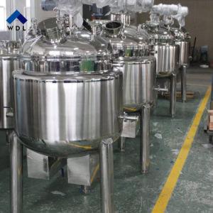 Beklede het Verwarmen van het Roestvrij staal Elektrische Vloeibare Vacuüm het Mengen zich van het Mengapparaat Tank