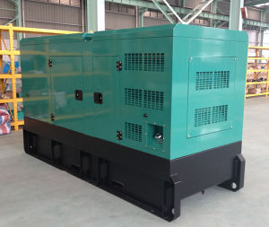 CER Approved Affordable Price 80kw/100kVA Silent Europa Engine Generator (GDC100*S)