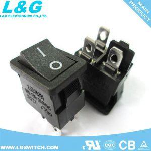 力の倍2の位置94V0 12A250VACのロッカースイッチ