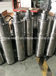 4qgd2-60-0.75ステンレス鋼の浸水許容の水ポンプ