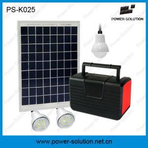 Sistema de Energía Solar de luz LED con reproductor de MP3 y radio FM