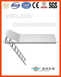 Fachada System-Aluminum andaimes plataforma de trabalho com a escada (FAS-AP)