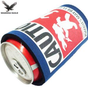 La impresión personalizada titular de la lata de cerveza de neopreno grueso enfriador puede