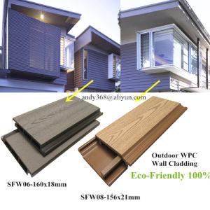 Anti-UVim freien Baumaterial-Außenwand-Umhüllung-Abstellgleis WPC
