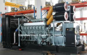 2250kVA 대기 미츠비시 디젤 엔진 발전기 세트 Ms2250g 미츠비시 발전기