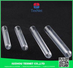 Provetta di plastica della varia radura di formato per il laboratorio