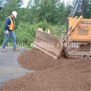 擁壁のための土の補強単軸のGeogrid