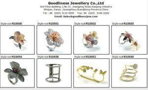 AAA 925 Joyería de Plata Anillo CZ joyas de las niñas (R10555)