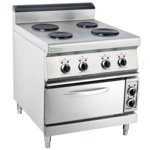 Oppein Cozinha comercial elétrica 4 rodada placa intervalo forno