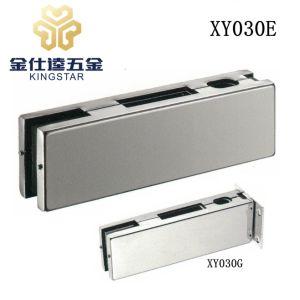 Cubierta de acero inoxidable cerradura de puerta de vidrio cristal de la caja de montaje de parche XY030E