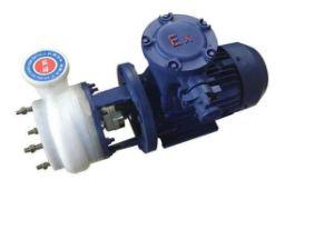 PFstarke korrosionsbeständige zentrifugale chemische Pumpe