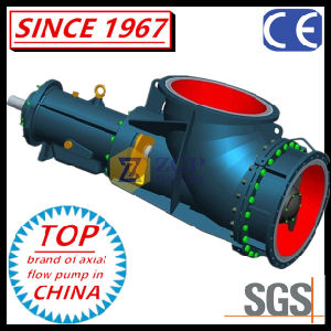 L'horizontale et verticale SS304 chimiques coude Axial Flow de la pompe d'hélice