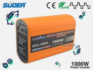 Suoer Coche Inversor de potencia del inversor de la energía solar de 1000W 12V a 220V de alimentación automática de pequeño inversor con precio de fábrica (SKA-1000A)