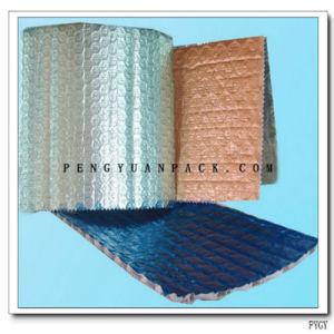 Покрынный алюминием пузырь прокатанный с сплетенной тканью для термоизоляции обруча