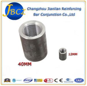 Rebar acoplamiento mecánico de acero fabricadas por máquina CNC