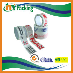 最もよいシーリングカートンのための価格ロゴによって印刷されるBOPPの粘着テープ
