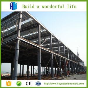 Fabricación previamente la construcción de la armadura de la fábrica de la estructura de tubo de acero