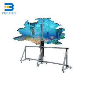 A arte de lona Digital Bcx máquina de impressão directa de imagem 3D preços papéis de parede vertical automática Impressora